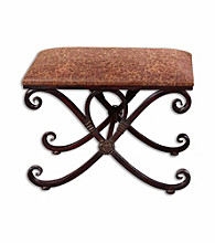 Uttermost Manoj Small Bench