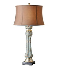 Uttermost Deniz Blue Lamp