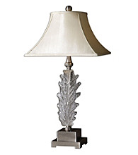 Uttermost Glass Acanthus Lamp