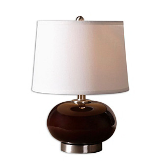 Uttermost Clayton Burgundy Lamp