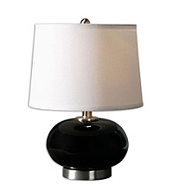 Uttermost Clayton Black Lamp