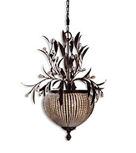 Uttermost Cristal De Lisbon 3-Light Chandelier