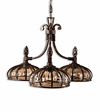 Uttermost Galeana 3-Light Chandelier