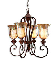 Uttermost Elba 4-Light Chandelier