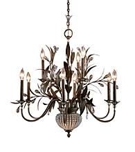Uttermost Cristal De Lisbon 9-Light Chandelier