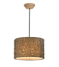 Uttermost Knotted Rattan Light Hanging Shade