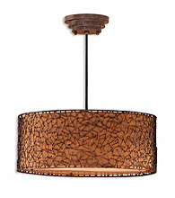 Uttermost Brandon 3-Light Hanging Shade