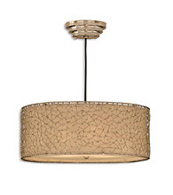Uttermost Brandon Silver 3-Light Hanging Shade