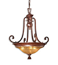 Uttermost Elba 3-Light Pendant