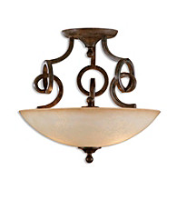 Uttermost Legato Semi Flush Mount
