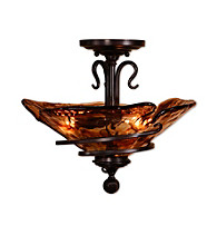 Uttermost Vitalia 3-Light Semi Flush Mount