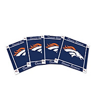 Boelter Brands Denver Broncos 4-pk. Ceramic Coasters
