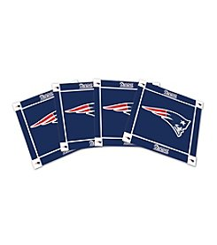 NFL® New England Patriots 4-Pack Ceramic Coasters