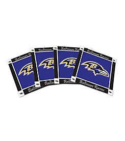 NFL® Baltimore Ravens 4-Pack Ceramic Coasters