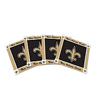Boelter Brands New Orleans Saints 4-pk. Ceramic Coasters