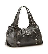 Nine West® Zipster Medium Satchel - Black