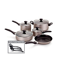 Farberware® Dishwasher Safe Nonstick Champagne 12-pc. Cookware Set