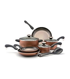 Paula Deen® Dishwasher Safe Nonstick 11-pc. Copper Cookware Set + $20 Cash Back by mail See offer details