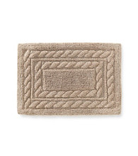 Lauren Ralph Lauren Greenwich Solid Cable Accent Bath Rugs