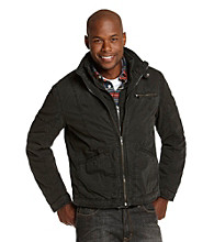 R&O Men's Slate Double Collar Hipster Jacket