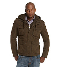 R&O Men's Multi Pocket Hipster Jacket
