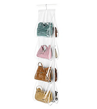 Whitmor® Clear Hanging Handbag File