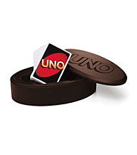 Perfect Solutions® Mattel Deluxe Mahogany UNO™