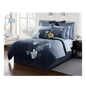 Nayla Bedding Collection by Lawrence Home Fashions