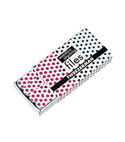 Tweezerman® Hot for Dots Mini Nail Files
