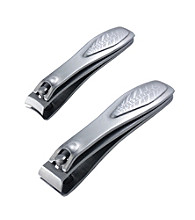 Tweezerman® Satin Etched Nail Clipper Set