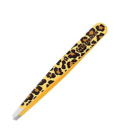 Tweezerman® Animal Print Stainless Steel Slant Tweezers