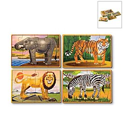 Melissa & Doug® Zoo Animal Jigsaw Puzzle Box