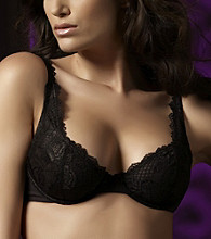 Felina® Lush Lace Full Busted Underwire Bra - Black