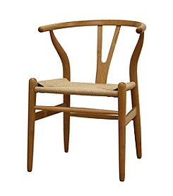 Baxton Studios Wishbone Chair Wood Chair