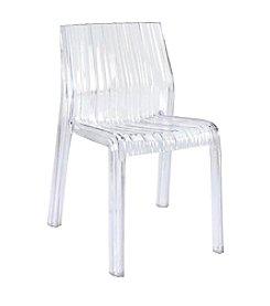 Baxton Studios Minotti Acrylic Chair