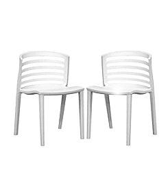 Baxton Studios Ofilia Plastic Accent Chair