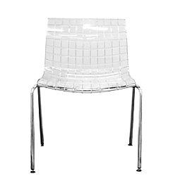 Baxton Studios Obbligato Acrylic Accent Chair