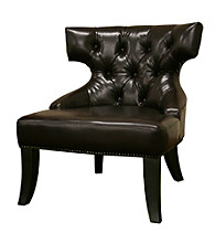 Baxton Studios Taft Leather Chair