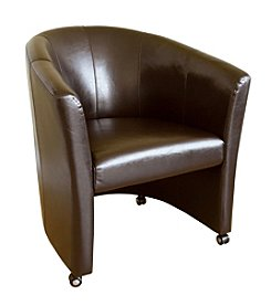 Baxton Studios Helena Leather Chair