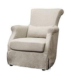 Baxton Studios Cream Carradine Chair