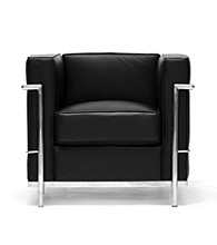 Baxton Studios Black Le Corbusier Chair