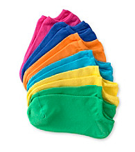 HUE® 6-Pack Liner Socks - Brights