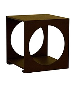 Baxton Studios Cognac Cube End Table