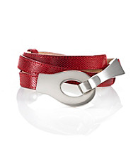 Fashion Focus Skinny Snake Adjustable Belt