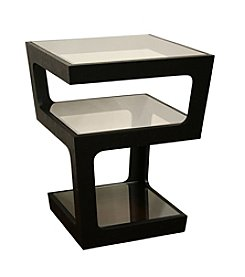 Baxton Studios Clara 3-Tiered End Table