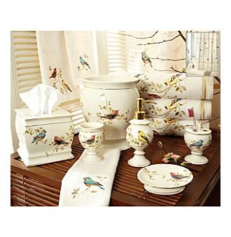 Avanti® Gilded Birds Bath Collection