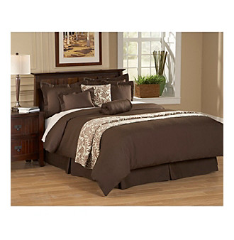 Emery Chocolate Duvet Collection by American Century Home