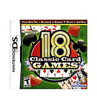 Nintendo DS® 18 Classic Card Games
