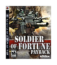 PlayStation® 3 Soldier of Fortune: Payback