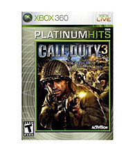Xbox 360® Call Of Duty 3 Platinum